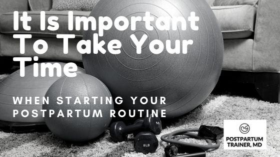 Postpartum-training