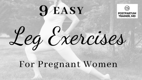 leg-exercise-postpartum-women