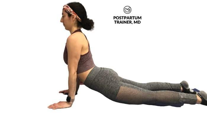 yoga-postpartum-upward-dog