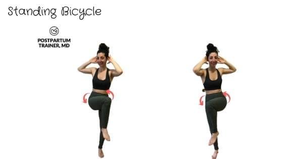 diastasis-recti-standing-bicycle