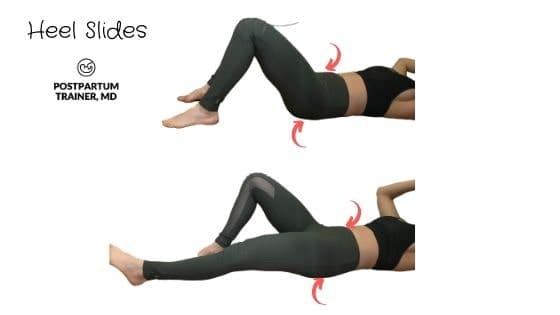 diastasis-recti-heel-slides