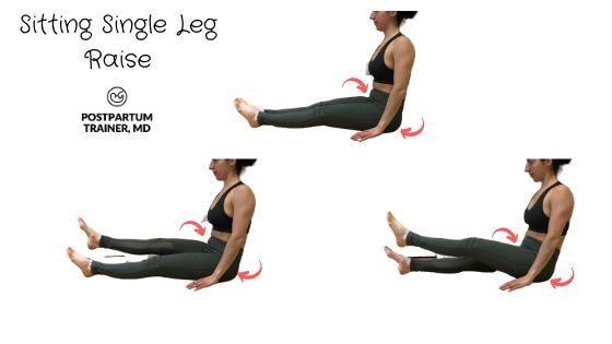 diastasis-recti-sitting-single-leg-lifts