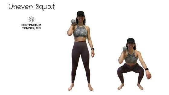 diastasis-recti-uneven-squat