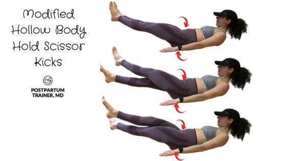diastasis-recti-modified-hollow-body-hold-scissor-kicks