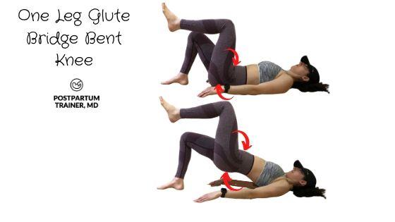 diastasis-recti-one-leg-gute-bridge