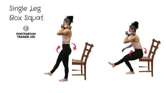 diastasis-recti-single-leg-box-squat