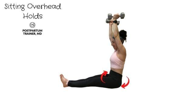 diastasis-recti-sitting-overhead-holds
