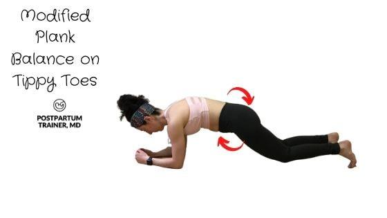 diastasis-recti-modified-plank-on-tippy-toes