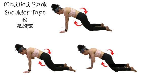 diastasis-recti-modified-plank-shoulder-taps