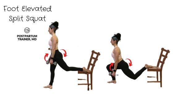 diastasis-recti-foot-elevated-split-squat