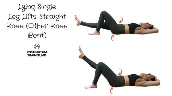 diastasis-recti-lying-knee-leg-lifts