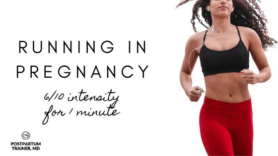 running-1st-trimester