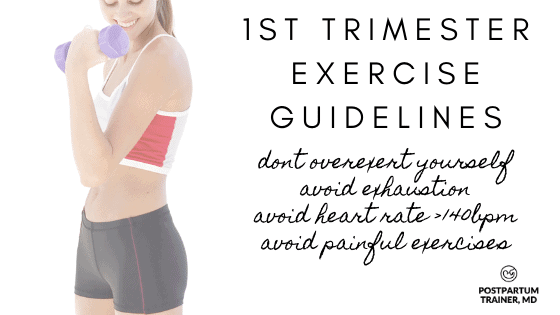 1st-trimester-exercise-guidelines