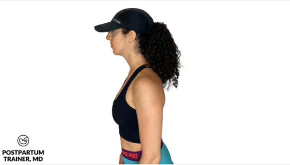 postpartum-forward-head-posture