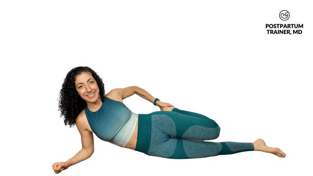 side-lying-quad-stretch