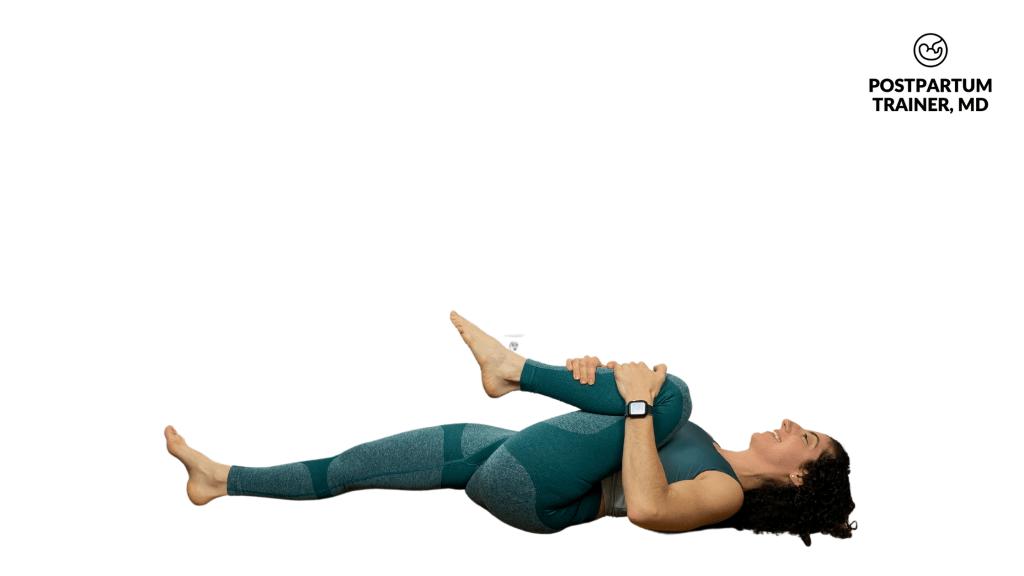 knee-to-shoulder-stretch