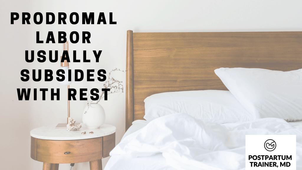 can-you-sleep-through-prodromal-labor