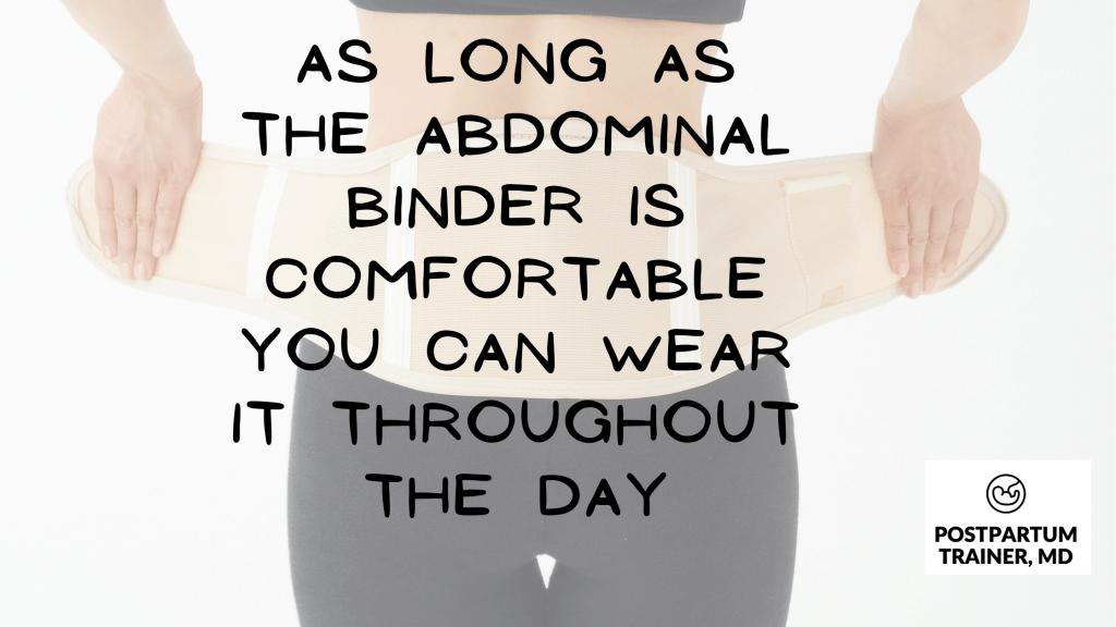 postpartum-abdominal-binder