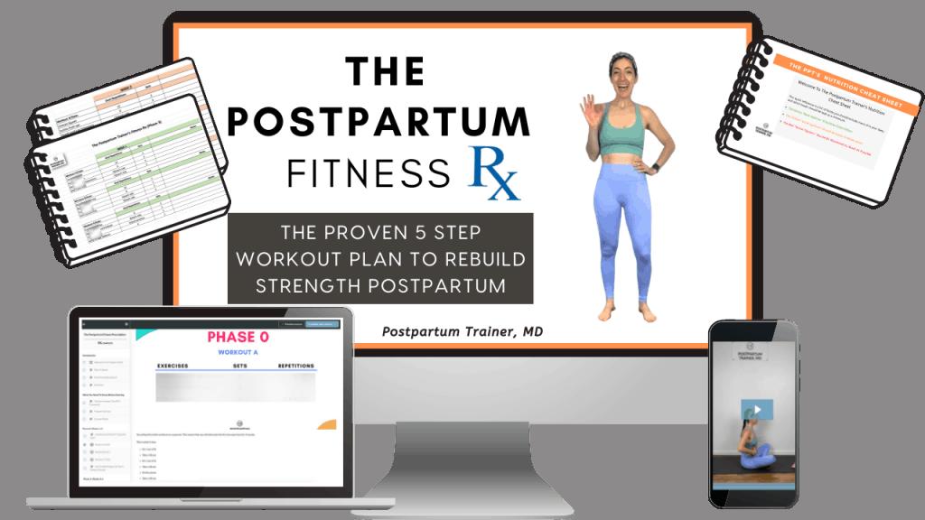 The Postpartum Fitness Prescription